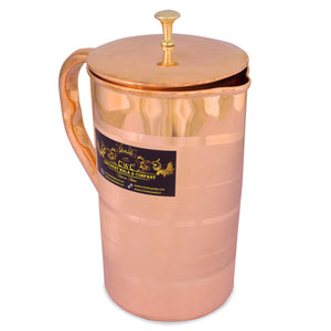 CROCKERY WALA AND COMPANY Copper Jug Luxury, 1600 ml - Crockery Wala And Company