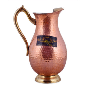 Crockery Wala and Company Pure Copper Mughlai Jug With Kalai