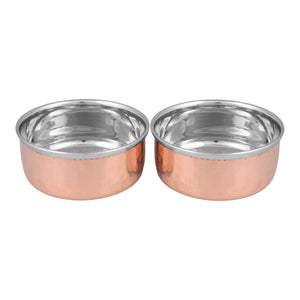 Crockery Wala And Company  Steel Copper Bowls