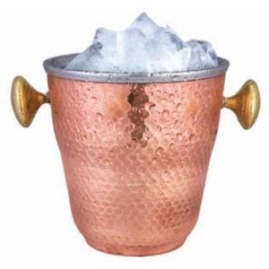 Copper Steel Ice Bucket 1000 ml
