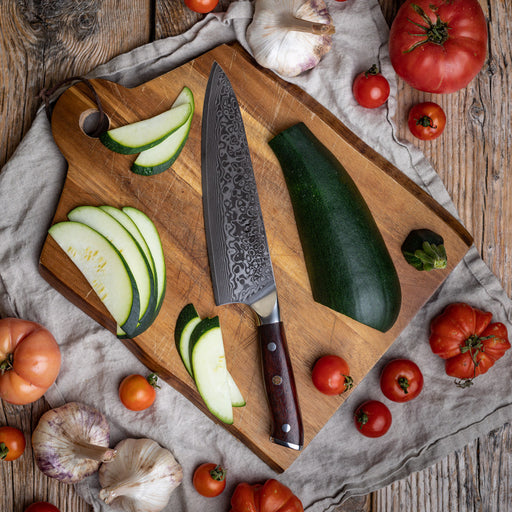 """8"""" Damascus Chef's Knife 1"""