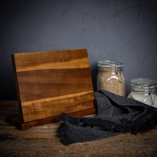 Acacia Wood Magnetic Knife Stand 1