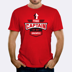 Captain of my Dream11 - Red