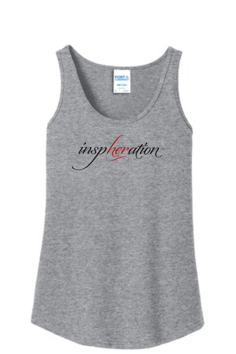 Women's Heather Gray inspHERation™ Tank Top