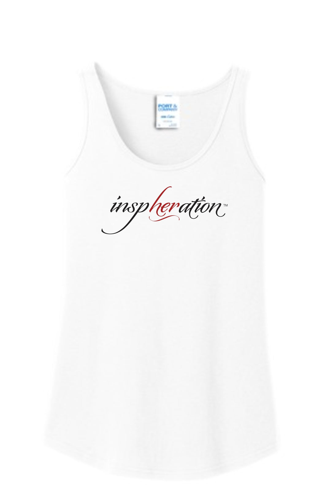 Women's White inspHERation™ Tank Top