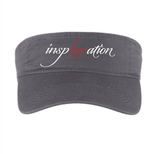 Women's inspHERation® Embroidered Adjustable Fashion Visor