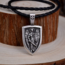 Load image into Gallery viewer, Archangel Saint Michael Necklace