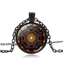 Load image into Gallery viewer, Sacred Sri Yantra Necklace Pendant