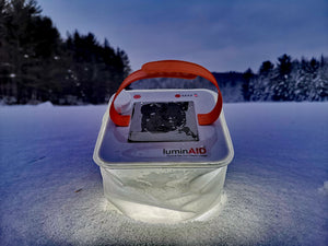 Packlite Hero 2-in-1 Solar Inflatable Lantern + Supercharger