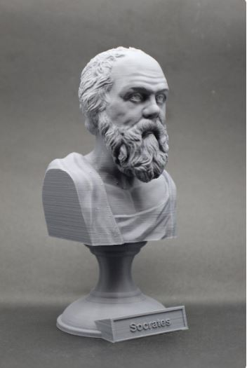 3D-Printed Philosopher Busts
