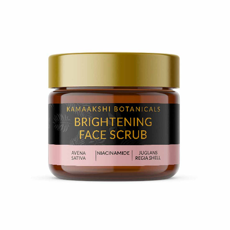 FACE BRIGHTENING SCRUB WITH KASHMIR WALNUTS & COLLOIDAL OATS