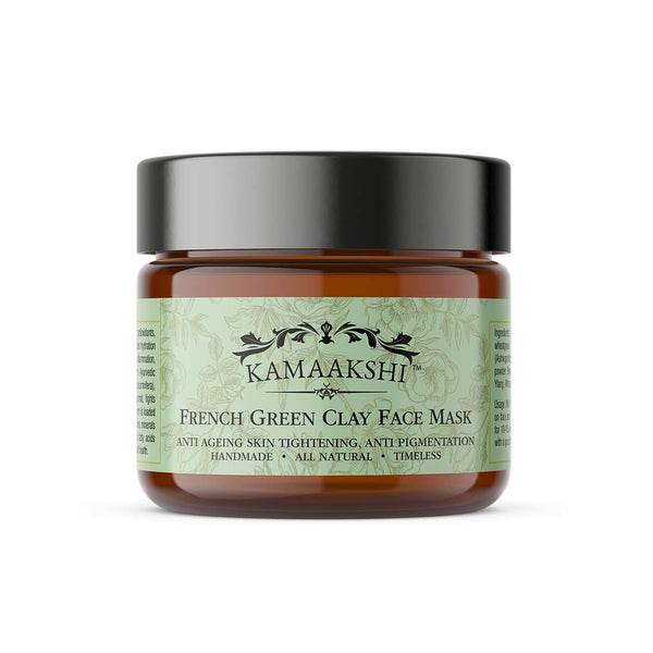 FRENCH GREEN CLAY SKIN REJUVENATION MASK  50 Grams