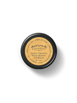 SWEET ORANGE WILD HONEY LIP BALM 5 Grams