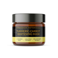 TURMERIC & CARROT SEED SKIN WHITENING FACE MASK  50 Grams