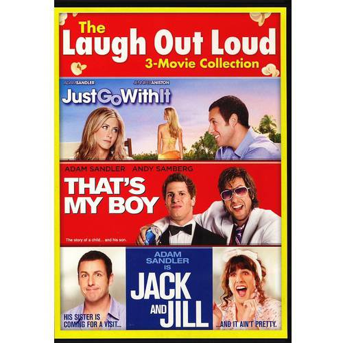 Jack and Jill/Just Go With It/That's My Boy 3 movie collection [SD Vudu InstaWatch]
