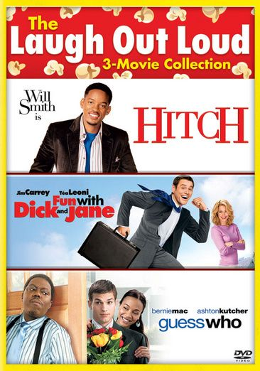 Comedy 3-Pack: Hitch, Fun With Dick and Jane, Guess Who [SD Vudu InstaWatch]