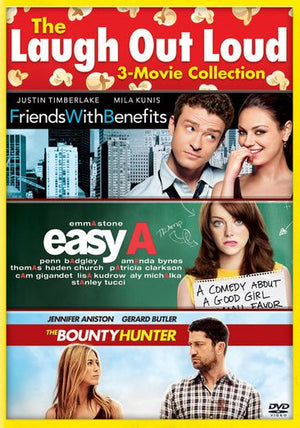 Comedy 3-Pack: Easy A, Bounty Hunter, Friends With Benefits [SD Vudu InstaWatch]