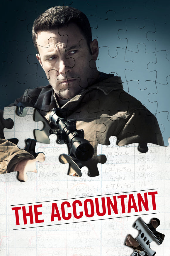 The Accountant [HDX Vudu or iTunes via Movies Anywhere] - R