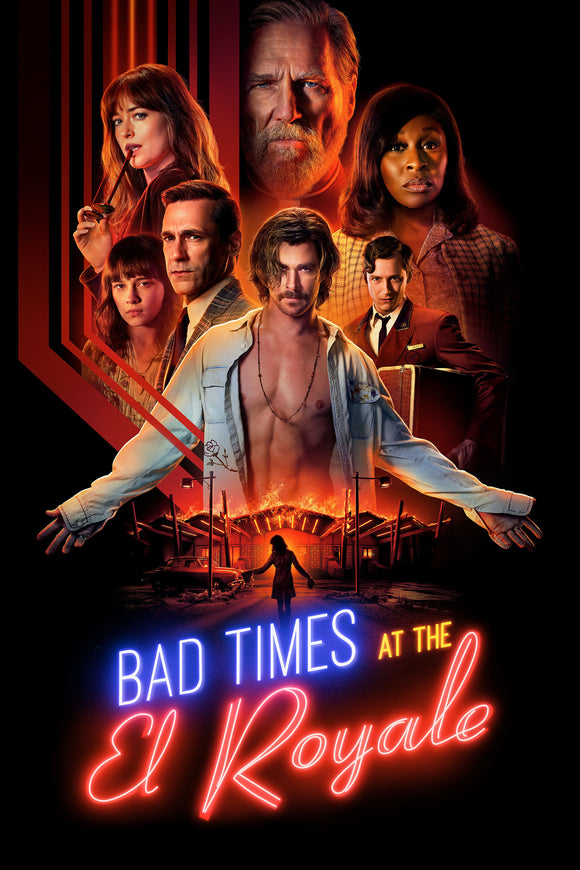 Bad Times At The El Royale [HDX Vudu, or iTunes via Movies Anywhere] - R