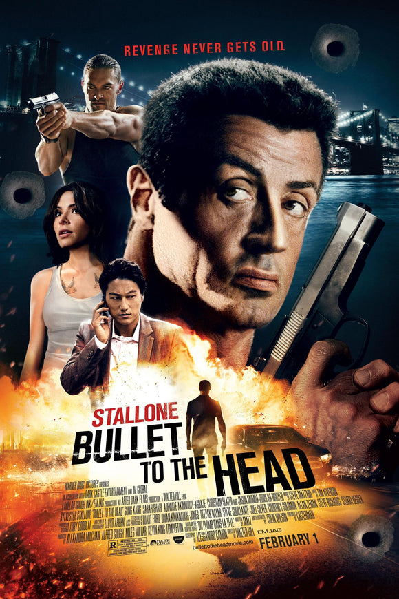 Bullet To The Head [HDX Vudu or iTunes via Movies Anywhere] - R