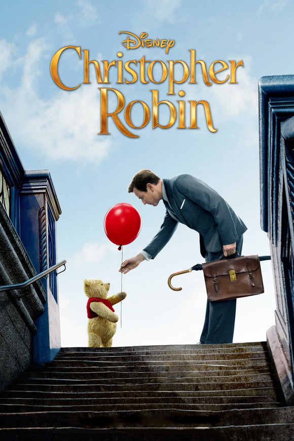 Christopher Robin [HDX Vudu or iTunes via Movies Anywhere] - PG