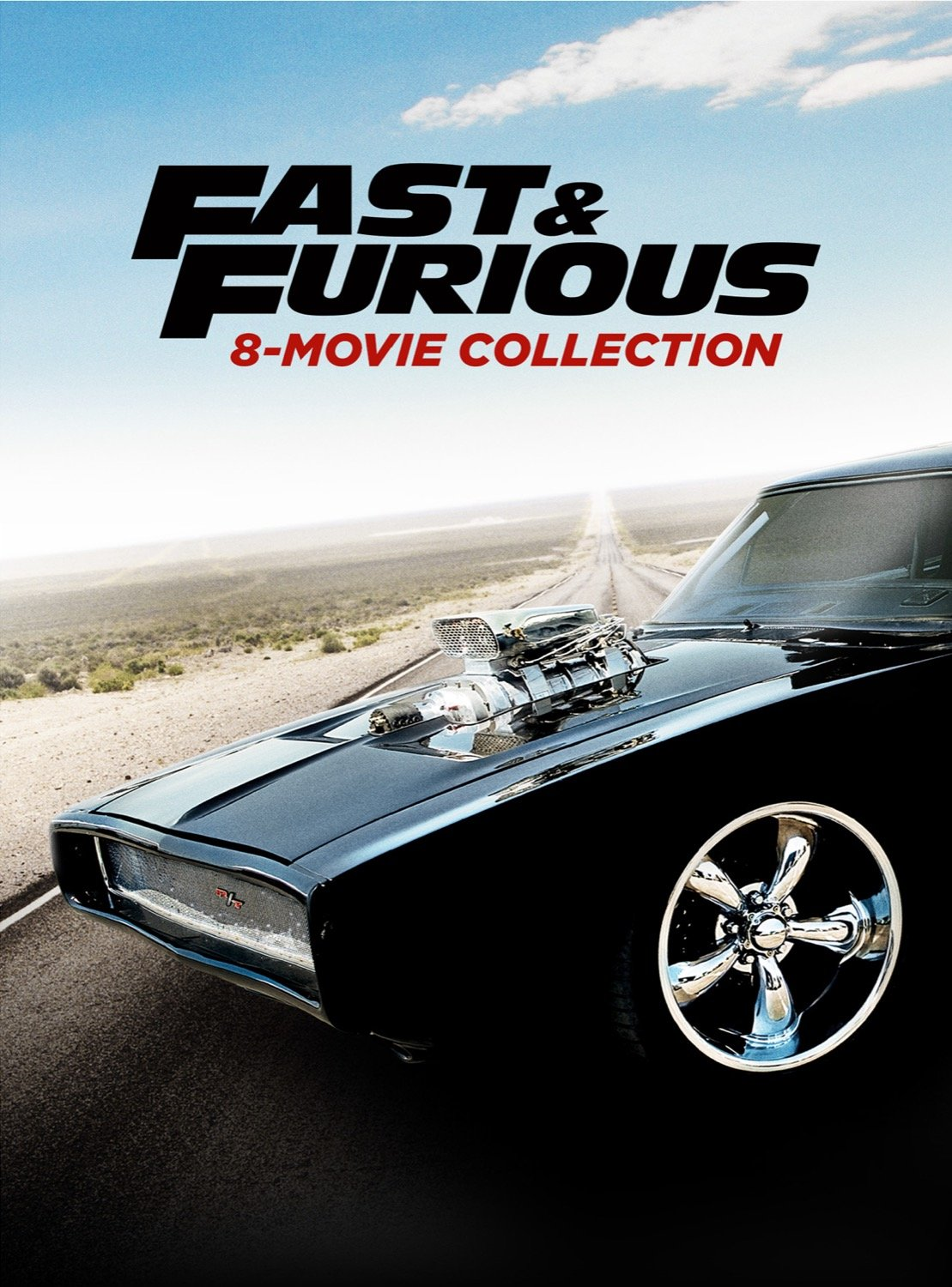 Fast & Furious 8-Movie Collection [ HDX Vudu InstaWatch]