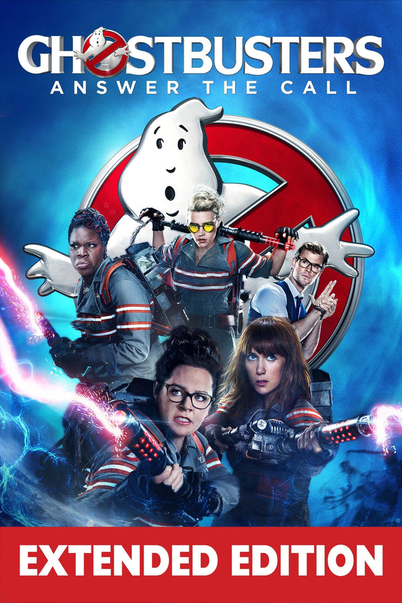 Ghostbusters (2016 - Extended) [HDX Vudu or iTunes via Movies Anywhere]