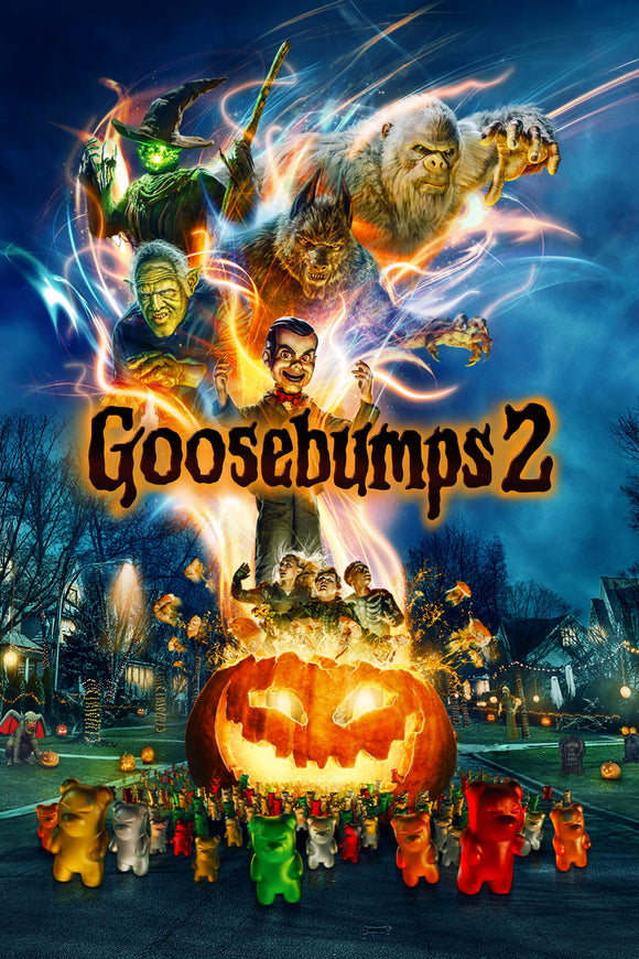 Goosebumps 2: Haunted Halloween [HDX Vudu or iTunes via Movies Anywhere] - PG