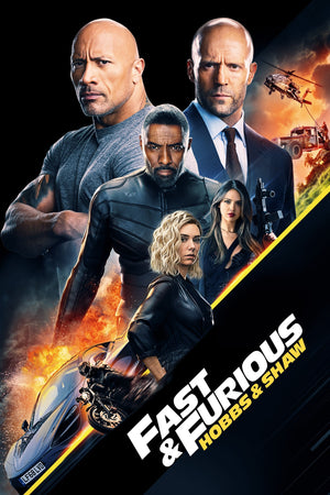 Fast & Furious Presents: Hobbs and Shaw [HDX Vudu or HD iTunes via MA]