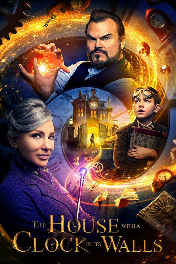 House With A Clock In It's Walls [4K Vudu or iTunes via Movies Anywhere] - PG