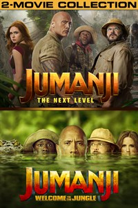Jumanji: Welcome to the Jungle/The Next Level [HDX Vudu InstaWatch] BUNDLE