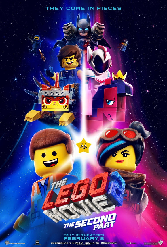 Lego Movie 2: The Second Part [HDX Vudu or HD iTunes via MA] Early Release