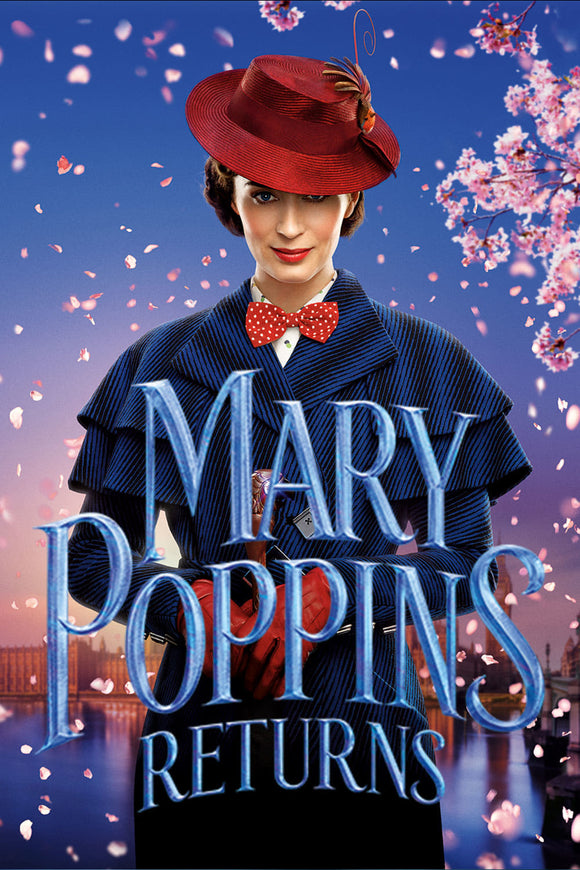 Mary Poppins Returns [HDX Vudu or HD iTunes via MA] - PG