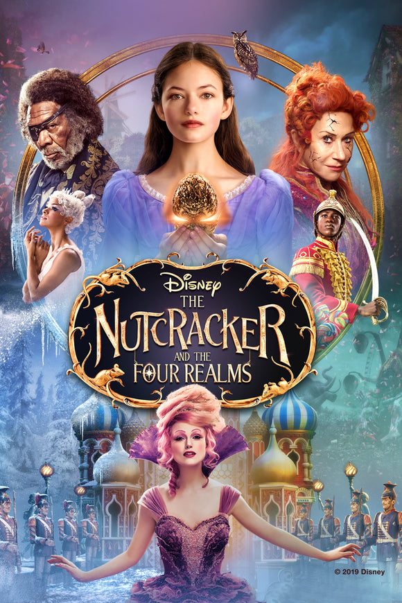 Nutcracker And The Four Realms [HDX Vudu or iTunes via MA] - PG