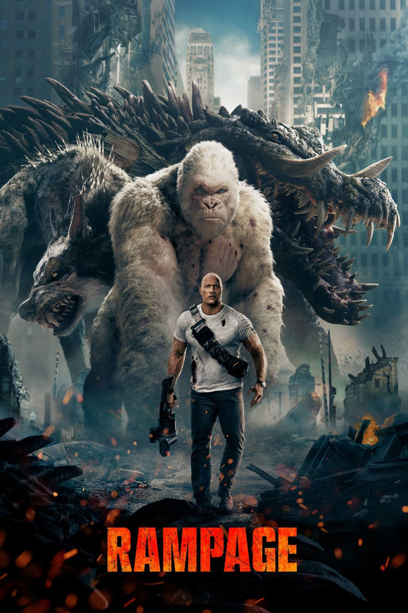 Rampage [HDX Vudu or iTunes via MA] - PG-13