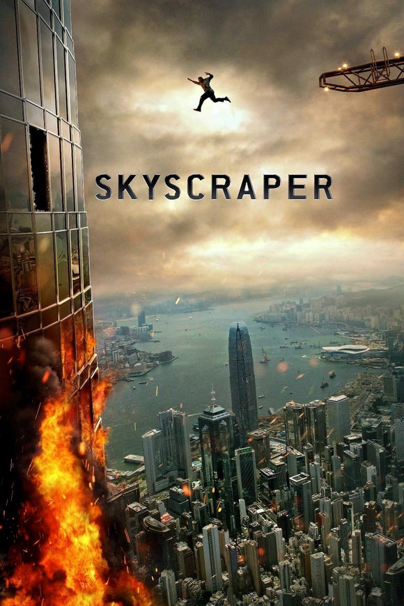 Skyscraper [4K Vudu or iTunes via Movies Anywhere] - PG-13