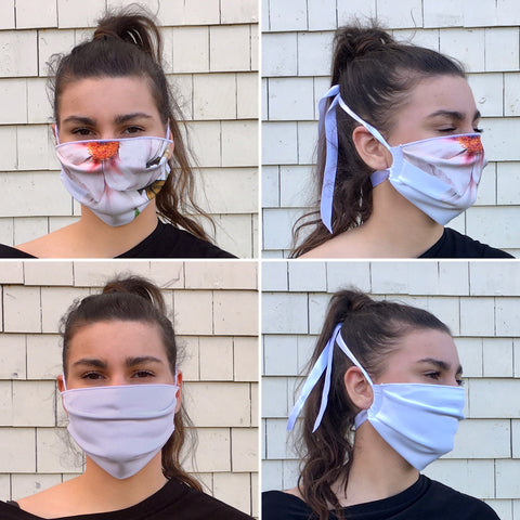 LUX Face Mask | Ribbon Strap -- 2 Options