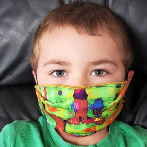 CHILD Face Mask | Ribbon Strap -- 2 Options