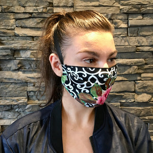 LUX PRINTED FACE MASK -- 2 Print Options