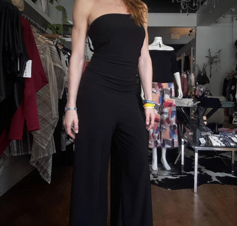 Culotte Jumpsuit BLACK
