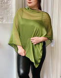 Heather Shawl -- CHARTREUSE