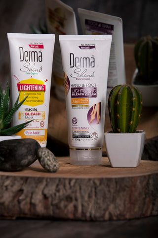 Derma Shine Bleach Kit