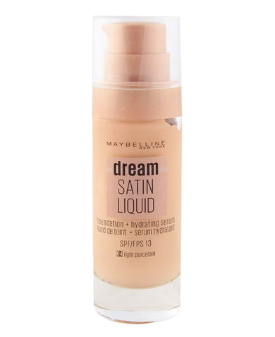 MAYBELLINE DREAM SATIN LIQUID FOUNDATION + HYDRATING SERUM