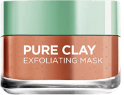 Loreal Pure Clay Exfoliating Red Algae Face Mask - Lipcara