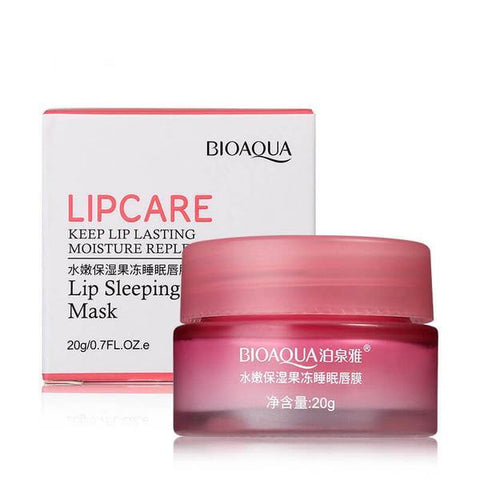Bio Aqua LIPCARE - Lip Sleeping Mask | Moisture Replenishment 20g