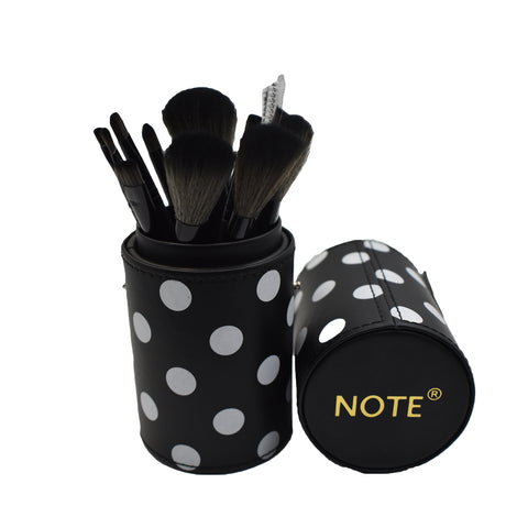 NOTE ROUND MAKEUP BRUSH KIT - 12 PIECE KIT