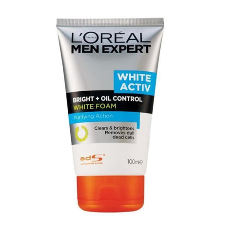 L'OREAL MEN EXPERT WHITE ACTIV OIL CONTROL FOAM