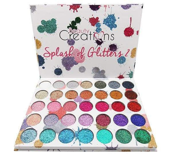 Beauty Creations Spash of Glitters Palette - Lipcara