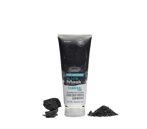 Derma Shine Charcoal Peel Off Black Mask