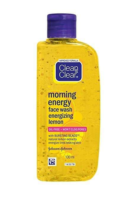 Clean and Clear Morning Energy Face Wash Energizing Lemon - Lipcara